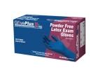 AMMEX - GPLHD88100XL - GlovePlus Heavy Duty Blue Latex Powder-Free 13 Mil - XL - 50/Pack