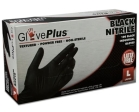 AMMEX - GPNB44100 - GlovePlus Black Nitrile Gloves, 6 Mil - Medium - 100/Pack
