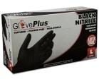 AMMEX - GPNB46100 - GlovePlus Black Nitrile Gloves, 6 Mil - Large - 100/Pack