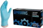 AMMEX - IN48100 - GloveWorks Industrial Nitrile Powdered, Blue - XL - 100/Pack