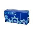 AMMEX - TL44100 - GloveWorks Ivory Latex Industrial Powdered - Medium - 100/Pack