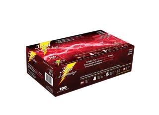 Atlantic Safety - RLL - Large Red Nitrile Gloves - 100/Pack