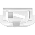 Auveco - 11152 - Windshield Clip Nylon - GM AMC - 100/Pack