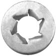 Auveco - 12260 - Pushnut Bolt Retainer M10-1.5 24MM OD - 100/Pack