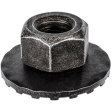 Auveco - 12596 - M6-1.0 Wash Nut 19MM OD