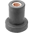Auveco - 13010 - Well Nut 1/4-20 Thread -  10/Pack
