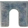 Auveco - 3156 - Shim 1-1/4 X 1-1/8 X 1/8 W/3/8 Slot Zinc - 100/Pack