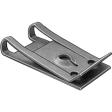 Auveco - 9879 - Spring Type U Nut, #8 Screw Size - 100/Pack
