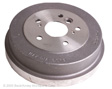 Beck Arnley - 083-2942 - Brake Drum