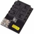 Bussmann - 15600-10-21 - ATC Fuse Panels - 10 Fuse Positions - Long Base