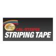Cal-Stripes - 16645-03 - Black Dual Stripe TPE 1/4