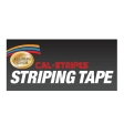 Cal-Stripes - 16645-07 - Silver Metallic Dual Stripe TPE 1/4