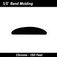 Cal-Stripes - 37-815 - Chrome Band Wheel Well Molding 5/8