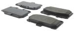 Centric Parts - 104-11820 - Posiquiet Semi Met Pads