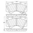 Centric Parts - 106-13030 - Posiquiet Extended Wear