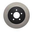 Centric - 120.61087 - Premium Brake Rotor
