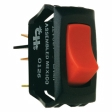 Cole Hersee - 54012 - SPST Off-On Rocker Switch, red pilot light