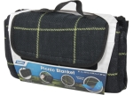Camco - 42800 - Picnic Blanket Black/Yellow 51In X 59In