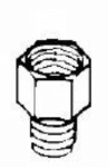 Devilbiss - P-H-4105 - Adaptor 3/8M X 1/4F Nps