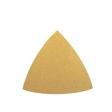 DYNABRADE - 93914 - Triangular x 120 Grit A/O Non-Vacuum Hook-Face DynaCut Dynafine Disc