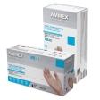 AMMEX - VPF64100 - Professional Vinyl Disposable Gloves Medium Clear Powder Free - 100/Pack