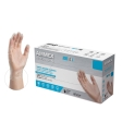 AMMEX - VPF66100 - Professional Vinyl Disposable Gloves Large Clear Powder Free - 100/Pack