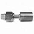 Four Seasons - 14010 - Straight Female Standard O-Ring  A/C Fitting w/o Service Port