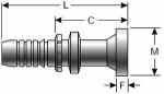 Gates - G20350-1612 - GlobalSpiral Couplings Code 62 O-Ring Flange Heavy