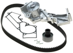 Gates - TCKWP249C - PowerGrip Premium OE Timing Belt Component Kit W/Water Pump