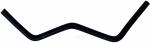 Continental - 64126 - Molded By-Pass & Molded Heater Hose (SAE 20R3)