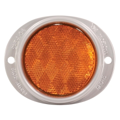 Grote - 40193 - Yellow Plastic Reflector