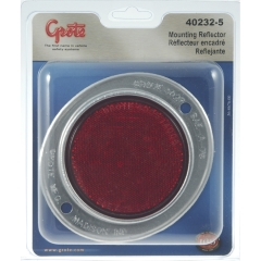 Grote - 40232-5 - Red Plastic Round Reflector