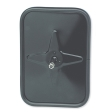 Grote - 12102 - Black Outer Bumper Mirror