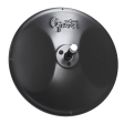 Grote - 12182 - Black Round Convex Mirror