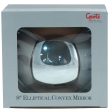 Grote - 12272-5 - Black Elliptical Mirror