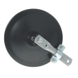 Grote - 28042 - Black Round Convex Mirror Assembly