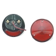 Grote - 50882 - Red 2-Stud Combination Lamp