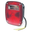 Grote - 50972 - Red 3-Stud Replacement STT Lamp