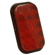 Grote - G4502 - Hi Count Rectangular LED Stop/Tail/Turn Lamp - Red