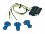 Hopkins - 48005 - 12In 4-Wire Flat Car End W/3 Splices