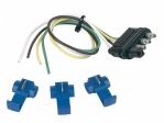 Hopkins - 48105 - 12In 4-Wire Flat Trailer End W/3 Splices
