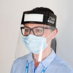 Jtape - 8000.2425 - Disposable Face Shield w/Elastic Headband