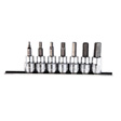K Tools - 22970 - Hex Bit Socket Set, 7 Piece, 3/8