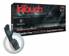Atlantic Safety Products - B311M - InTouch Black Nitrile Exam Gloves - Medium
