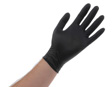 Atlantic Safety Products - BL-M - Black Nitrile PF 5.5pH Disposable Glove - Medium - Box/100