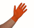 Atlantic Safety Products - OR-L - Orange Nitrile PF 5.5pH Disposable Glove - Large - Box/100