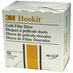 3M - 00959 - Hookit Gold Film Disc 255L, 5 in x NH P320