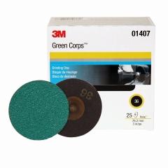 3M - 01407 - Green Corps Roloc Disc