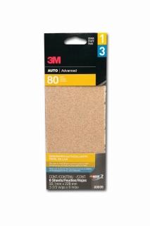 3M - 03035 - Aluminum Oxide Automotive Sandpaper, 03035, Medium, 3 2/3 in x 9 in