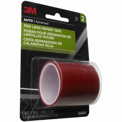 3M - 03441 - Red Lens Repair Tape, 1 1/2 inch x 60 inch